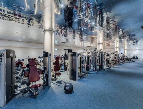 Anmeldung für die Fitness-Kurse nicht vergessen..