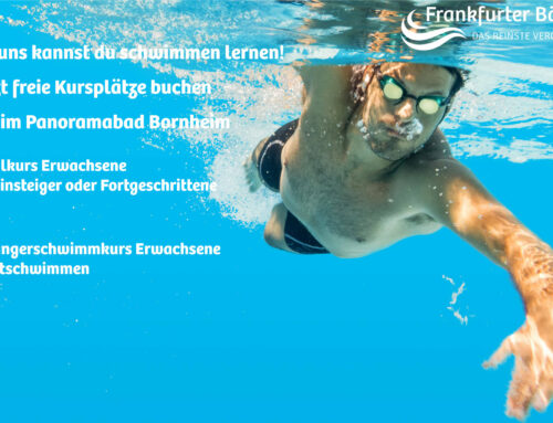 Für das Schwimmen lernen ist es nie zu spät!