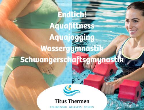 Es geht los! Aktivprogramm in den Titus Thermen ab 25. Oktober am Start!