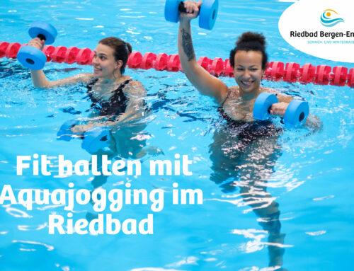 Aquajogging im Riedbad ohne Voranmeldung